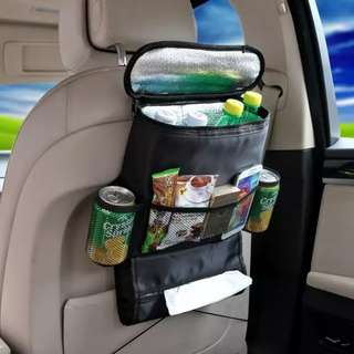 Car backseat thermal bag Cooler Hanging Storage Bag