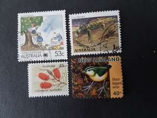 Australian & New Zealand Stamps