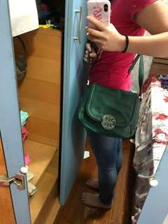 Tory Burch Messenger 綠色斜咩袋