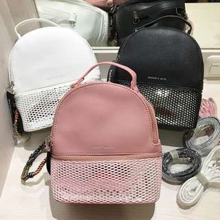 CHARLES AND KEITH SMALL BACKPACK