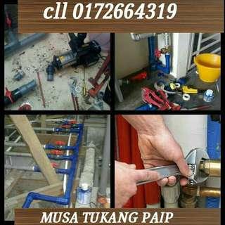 Musa plumber tukang paip,renovation