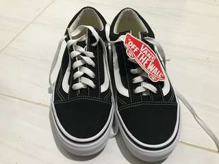 Vans Old Skool (Canvas) Black/True White