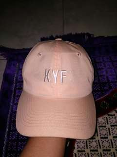 cap kayfa warna cream