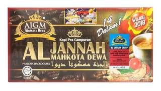 KOPI AL JANNAH MAHKOTA DEWA