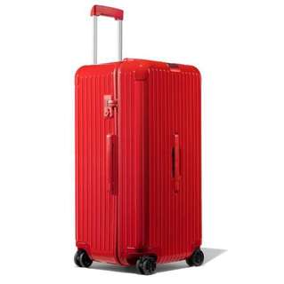 "RIMOWA ESSENTIAL Trunk 29"" 832.75.65.4 Red Gloss 明星紅 HKD6800,今年一定紅✌🏼"