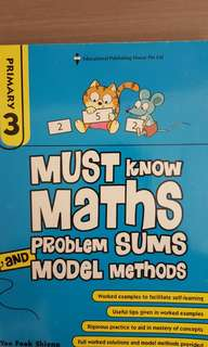 P4 maths exercise book