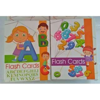 Set Combo Flash Card ABC & Number