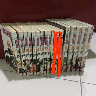 Bleach komik / English and malay price include postage