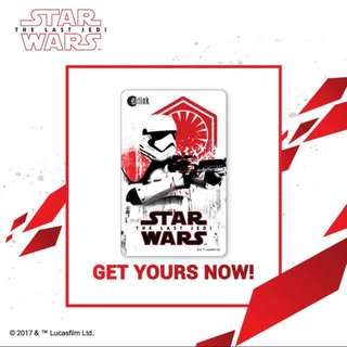 **Limited Edition** Star Wars : The Last Jedi Ezlink Card