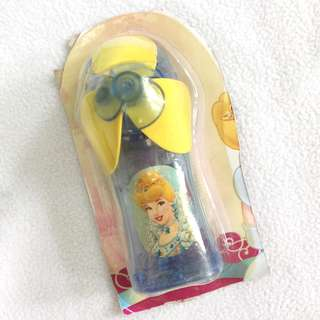 (New) Cinderella mini fan