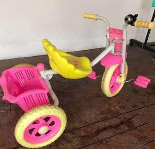 Tricycle kid