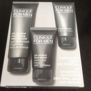 Clinique For Men Daily Oil Control Kit for Oily and Combination Skin