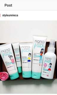 Skincare Nano white FULL SET