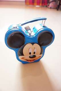 Mickey Mouse Tin Can Coin Bank