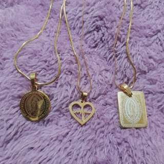 Stainless Gold Necklaces