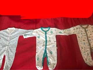 Sleepsuit Boy Series Velvet 3 Pcs