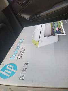 New HP 2130 printer - copy scan print - simple and ink efficient