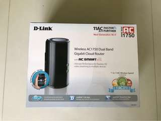 wireless AC1750 dual band gigabit cloud router DIR-868L