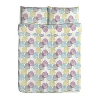 IKEA MALIN RUND Duvet cover and pillowcase(s)