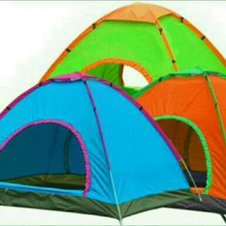 4 men automatic tent camping instant setup. Brand new.