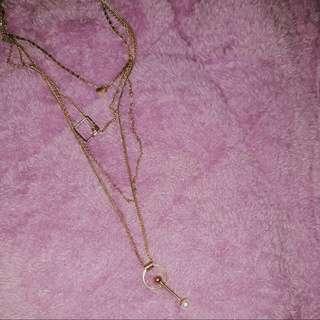 Bershka Layered Necklace