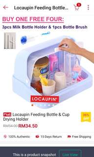 feeding bottle &  cup drying holder