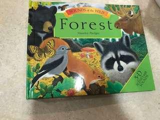 BN 3-D book on forest children's book