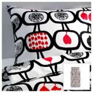 IKEA ANGSSKARA Single Duvet Cover and Pillowcase
