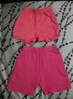 Good Condition Baby Girl Shorts