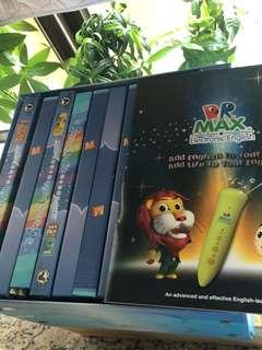 Dr. Max 書籍連習作及點讀筆