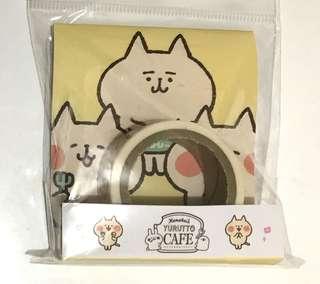日本製 Kanahei cafe 限定 紙膠帶 貓款