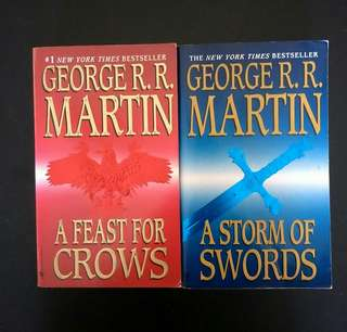 A Song of Ice & Fire by G. R. R. Martin