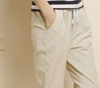 Korean Linen Pants