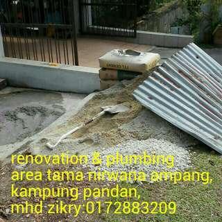Mohd zikry plumbing dan renovation area Selayang:0172883209