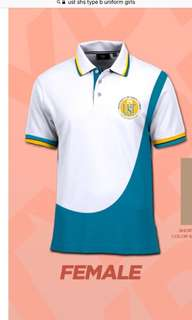 UST SHS TYPE A AND B UNIFORMS