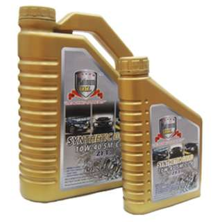 Platinum Oil Synthetic Gold 10W-40SM/CI-4 4L