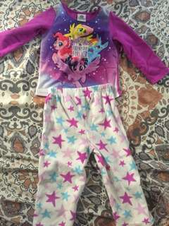 my little pony pyjama set