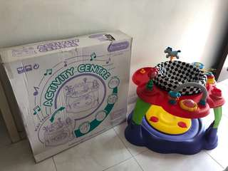 Lucky Baby Wonder Fun Activity Centre + Play Table