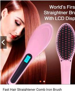 Hair straighter Brush)