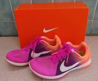 🚚 🎈Nike 超輕量 透氣 慢跑鞋 跑步鞋 路跑 輕薄 粉紫橘 漸層