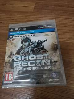 PS3 Games Ghost Recon (new sealed)