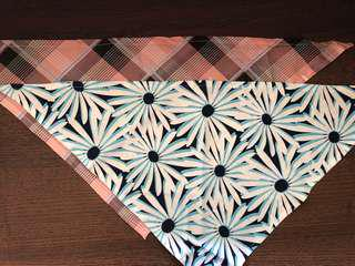 Drool handkerchief for large dogs