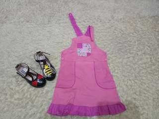 Baju Kodok Pink