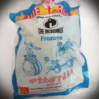 最後一隻-麥當勞絕版超人特攻隊玩具:酷冰俠