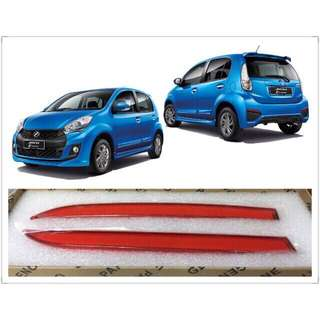 Led reflector light bar- Red / white ( Myvi icon / Axia)