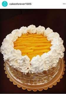 Mango Almond Cake