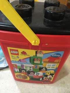 LEGO duplo box (without bricks)