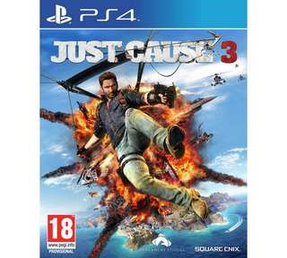 WTS/WTT Just Cause 3 PS4