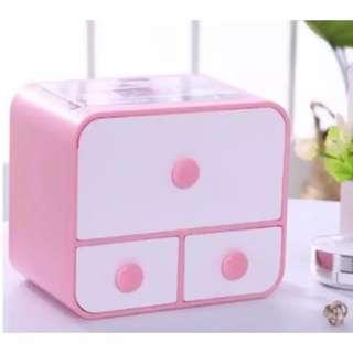 Tissue Box Mini Organizer