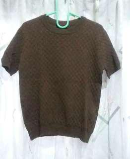 THE EXECUTIVE Brown Knit